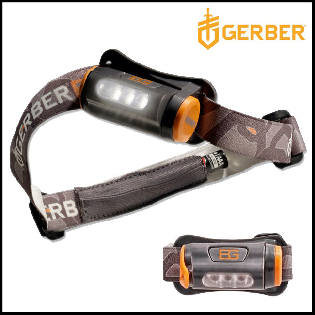 Bear Grylls Hands Free Torch by Gerber