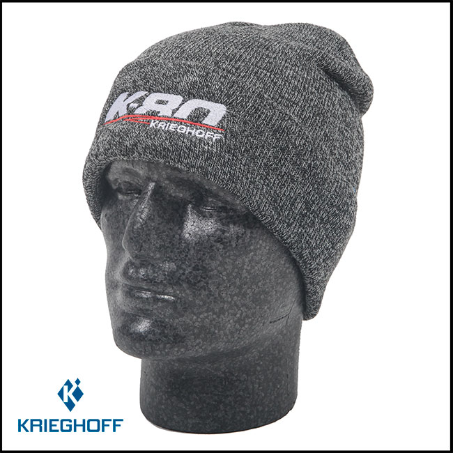 Krieghoff K-80 Sport Beanie - Heather Grey
