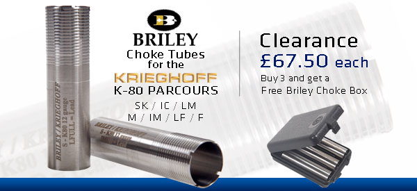 Briley Choke Tubes for K-80 Parcours - Clearance