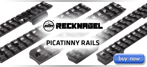 Recknagel Picatinny Rails - Sauer, Tikka, Remington